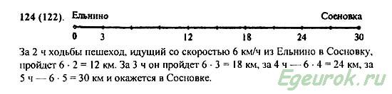 ГДЗ по математике 5 класс Виленкин  - номер №124