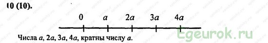 ГДЗ по математике 6 класс Виленкин  - номер №10