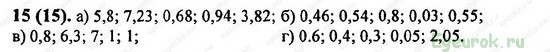 ГДЗ по математике 6 класс Виленкин  - номер №15
