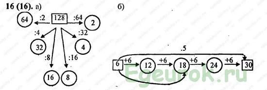 ГДЗ по математике 6 класс Виленкин  - номер №16